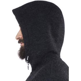 The North Face Zermatt Full Zip Hoodie Jacket Men TNF Black Heather